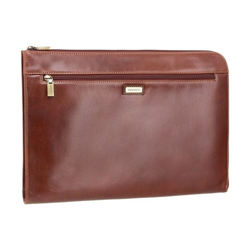 Visconti Bond Brown Leather Document Holder