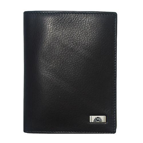 Tony Perotti Italian Black Soft Leather Jacket Wallet