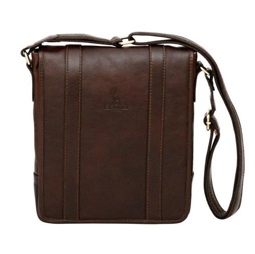 Felda Firenze Tablet Dark Brown Messenger Bag