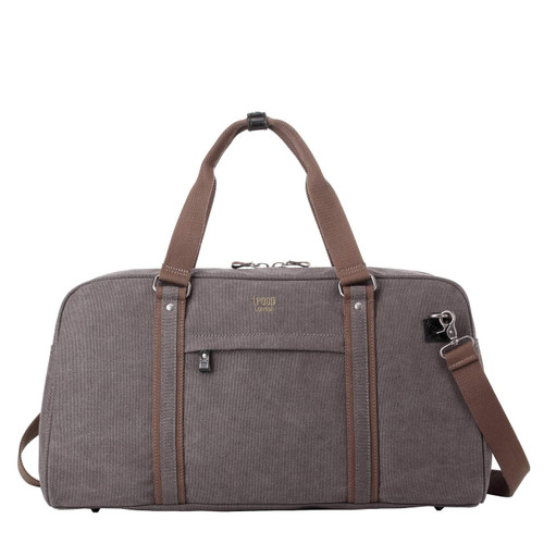 Troop Classic Black Canvas Travel Duffel Holdall