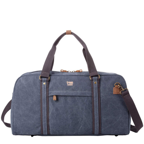 Troop Classic Blue Canvas Travel Duffel Holdall