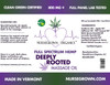 800mg Deeply Rooted-Full Spectrum Hemp Flower Massage & Body Oil -Aroma
