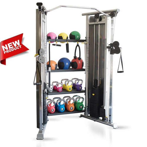 Inflight Fitness Functional Trainer w/ Medicine Ball & Kettlebell Package