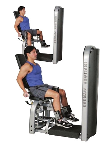 Inflight Fitness Inner/Outer Thigh W/ Rear Shroud