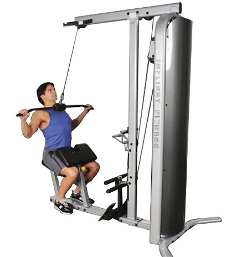 Inflight Fitness Lat Pull/Row Combo W/Shrouds