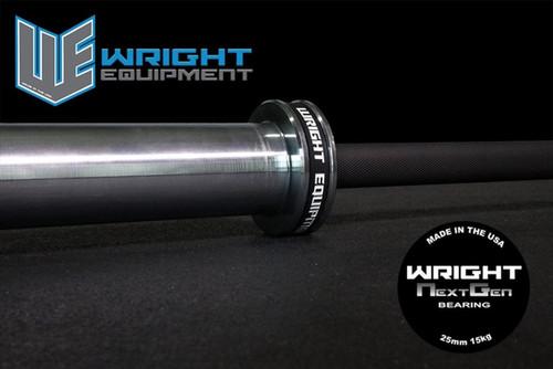 Wright Equipment 15 kg. Next Gen Bearing Bar
