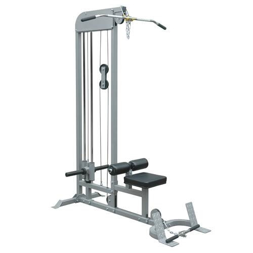 Champion Barbell Plate Loaded Lat Pulldown/ Low Row Machine