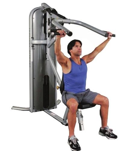 Inflight Fitness Dual Multi Press W/Shrouds