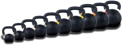 TRX Rubber Coated 4-40 KG. Kettlebell Set