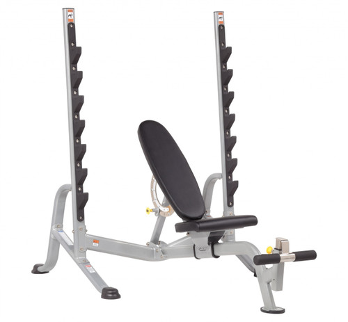 Hoist 7-Position F.I.D. Olympic Bench w/ 300 lb. Set- LOCAL PICKUP ONLY