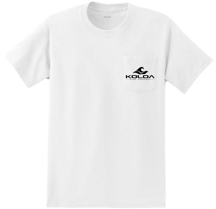 Koloa Wave Pocket Heavyweight T-Shirts