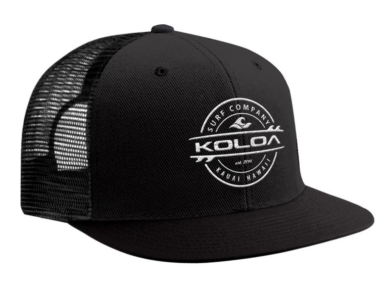 Koloa Surf Premium Thruster Mesh Snapback Hats