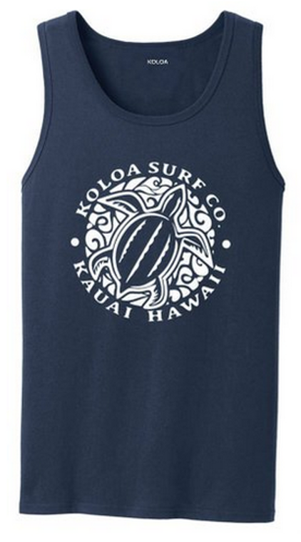 Navy / White logo