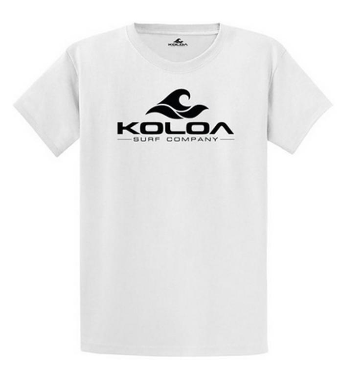White / Black logo
