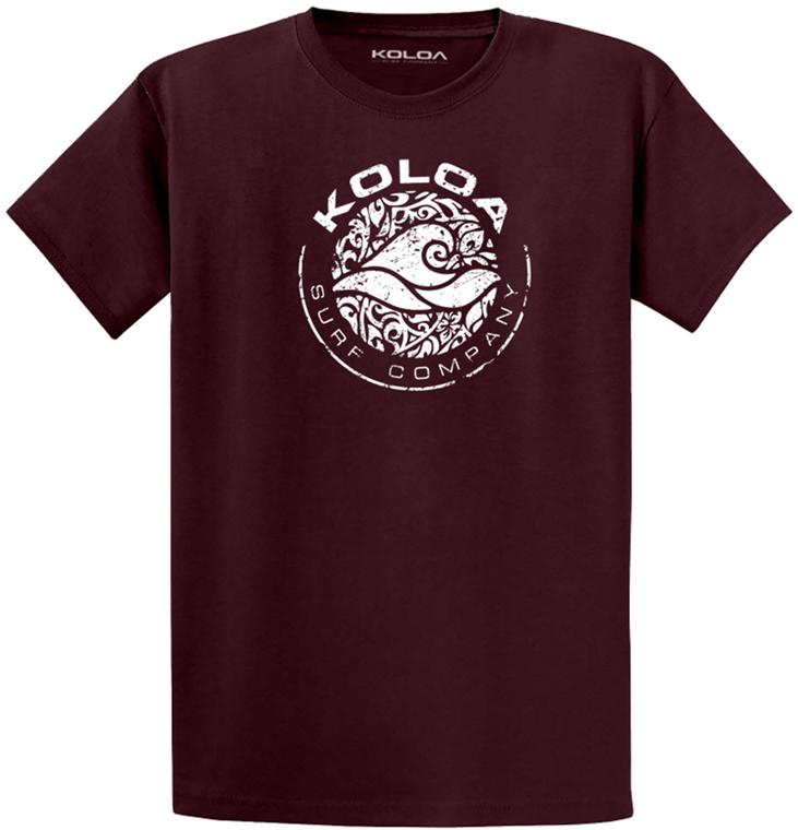 Koloa Surf Circle Wave Logo Lightweight Cotton T-Shirt