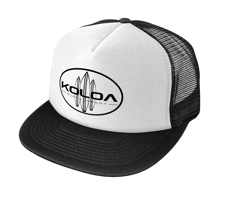 Black / White with Black logo
