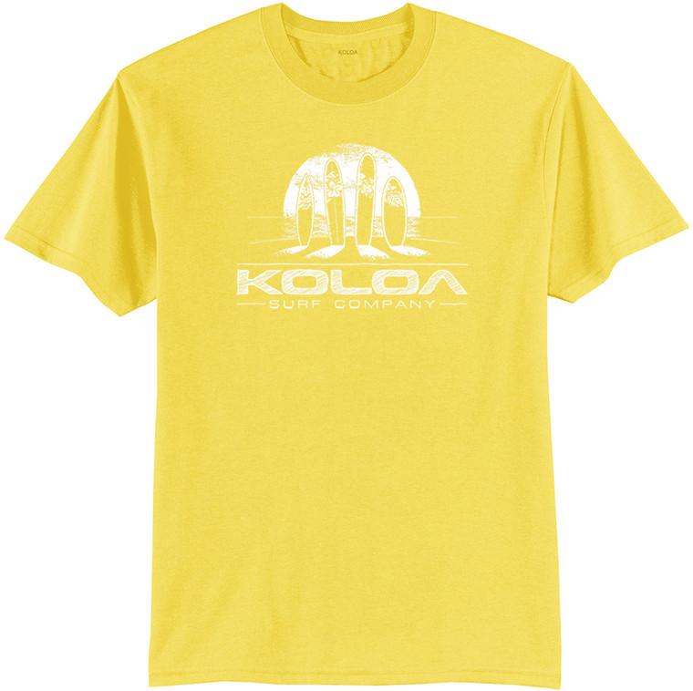Koloa Surfboards at Sunset 50/50 T-Shirt