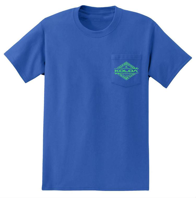 Royal Blue / Green logo