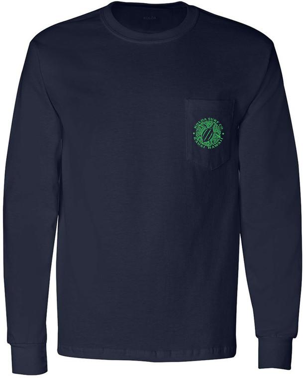 Navy / Green logo