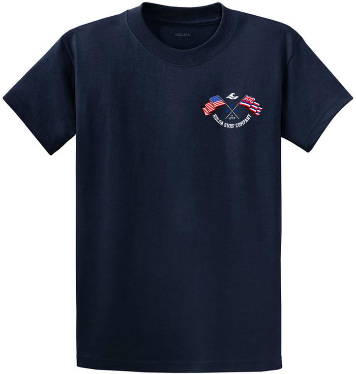 Koloa Flags Heavyweight T-Shirt
