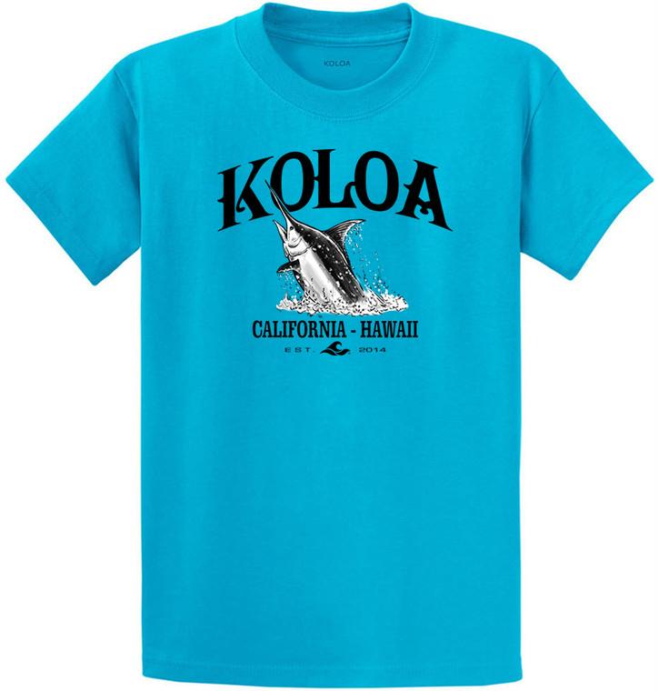 Koloa Jumping Marlin Heavyweight T-Shirt