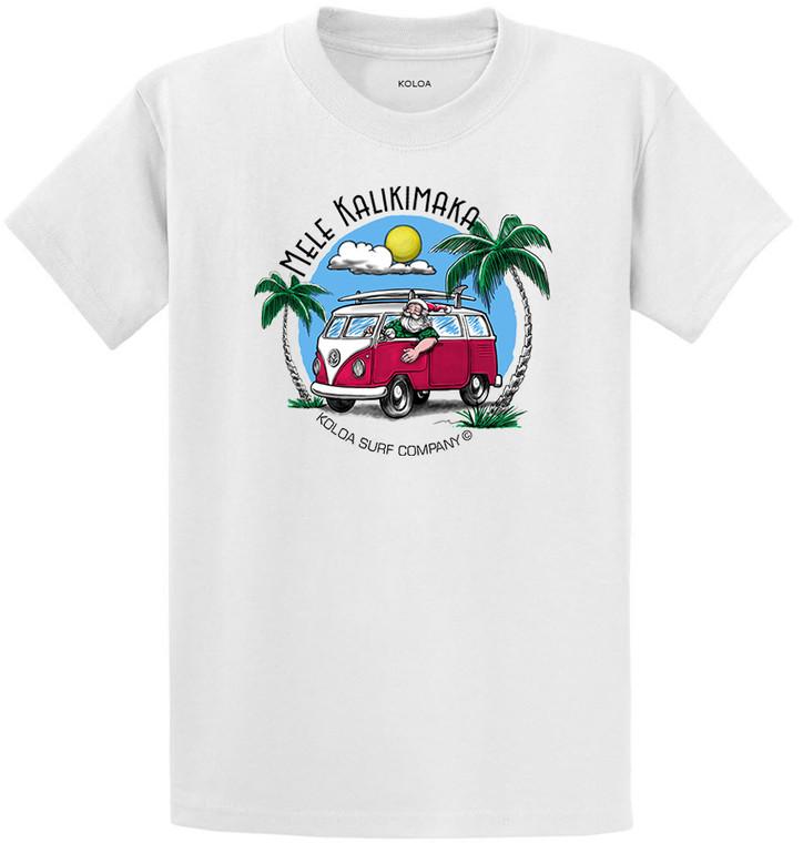 Santa's Surfer Van Heavyweight T-Shirt