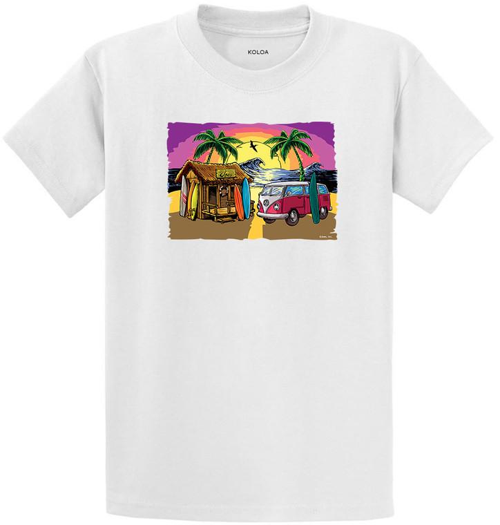 Koloa Joe's Surf Shack Heavyweight T-Shirt