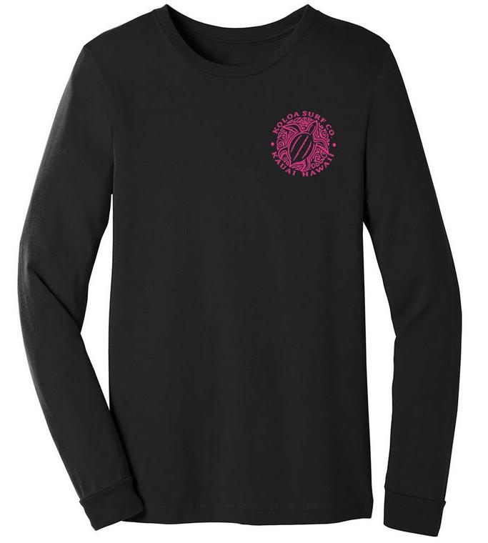 Black/ pink Front