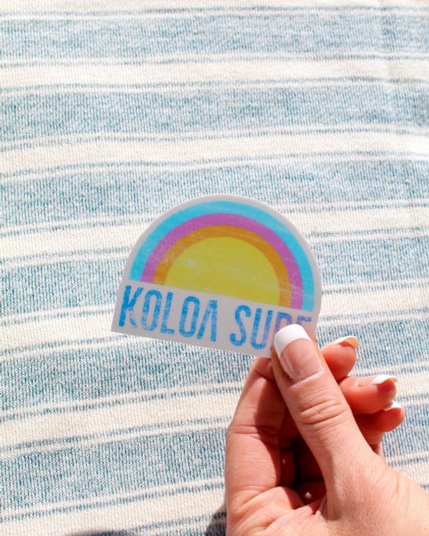 Koloa Rainbow Sticker