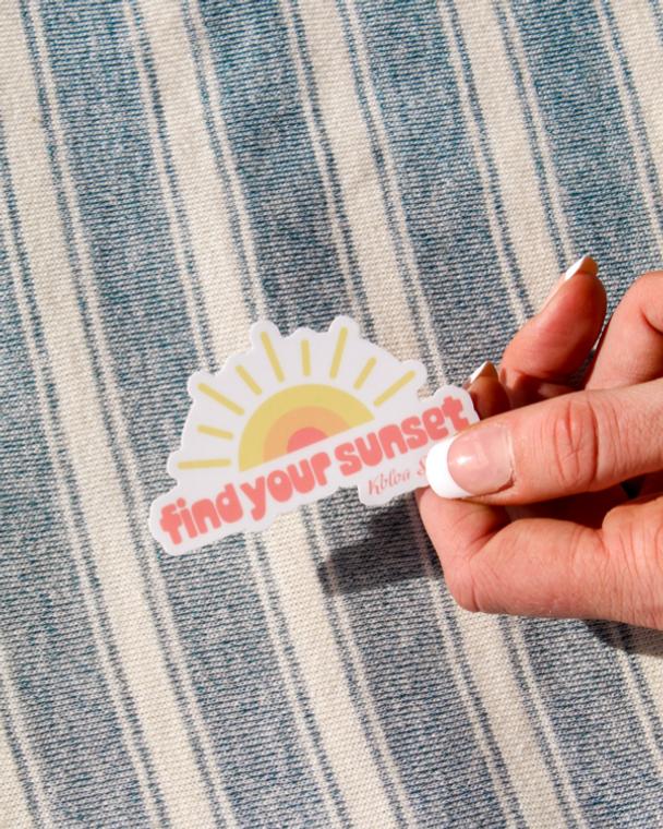 Koloa Find Your Sunset Sticker
