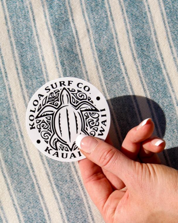 Koloa Honu Turtle Sticker