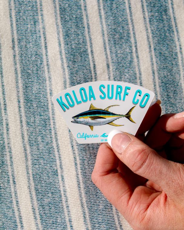 Koloa Yellowfin Tuna Sticker