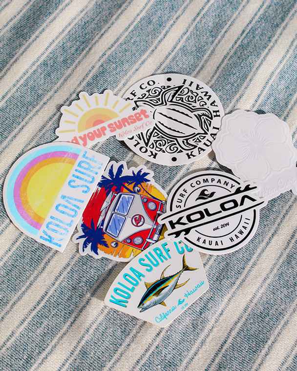 Koloa Sticker Pack (7 Stickers)