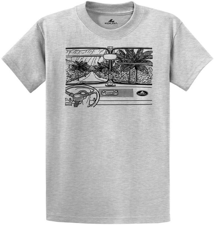 Koloa Hawaiian Drive B&W T-Shirt
