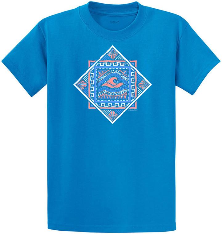 Sapphire Koloa Kanaka Maoli Youth T-Shirt