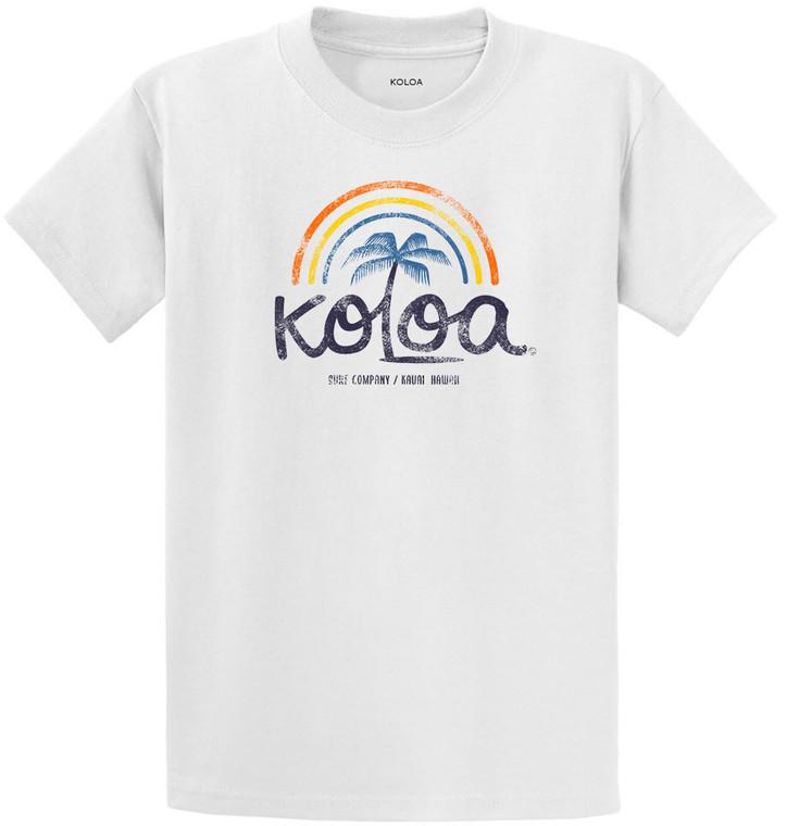 White Koloa Wahi Kapu Youth T-Shirt