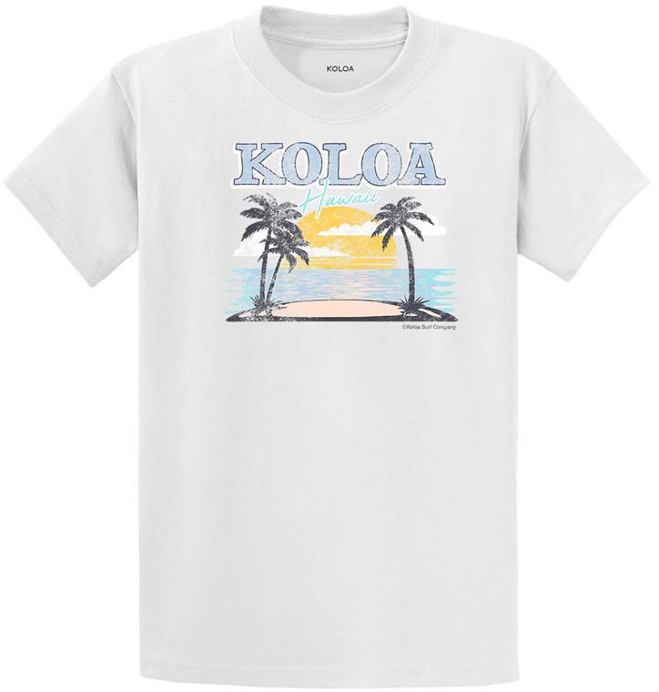 White Koloa Horizon Youth T-Shirt