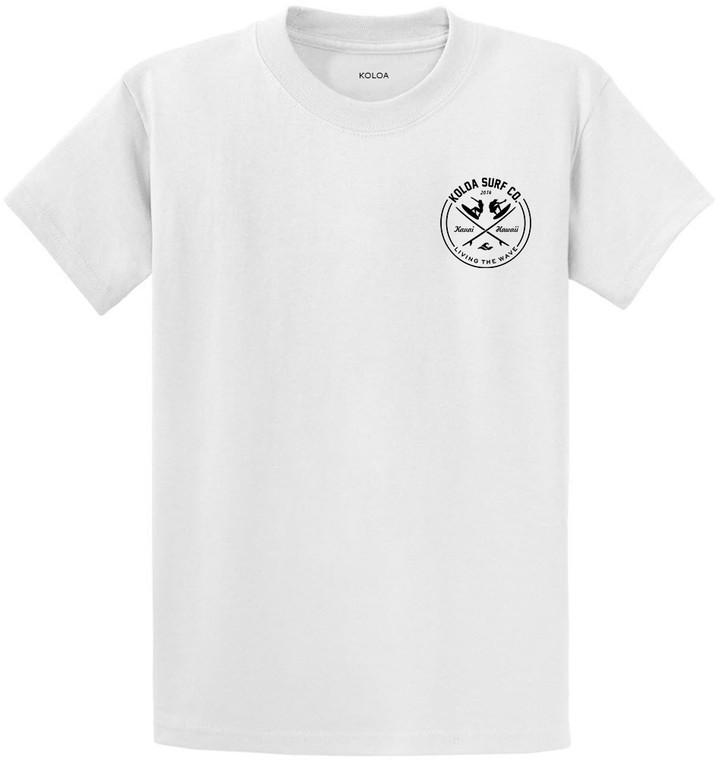 White- Koloa Surfers Youth T-Shirt