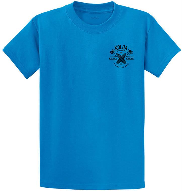 Sapphire- Kauai Boards Youth T-Shirt