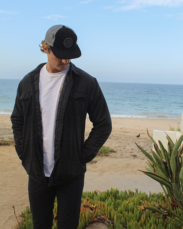 Koloa Quilted Flannel Jacket