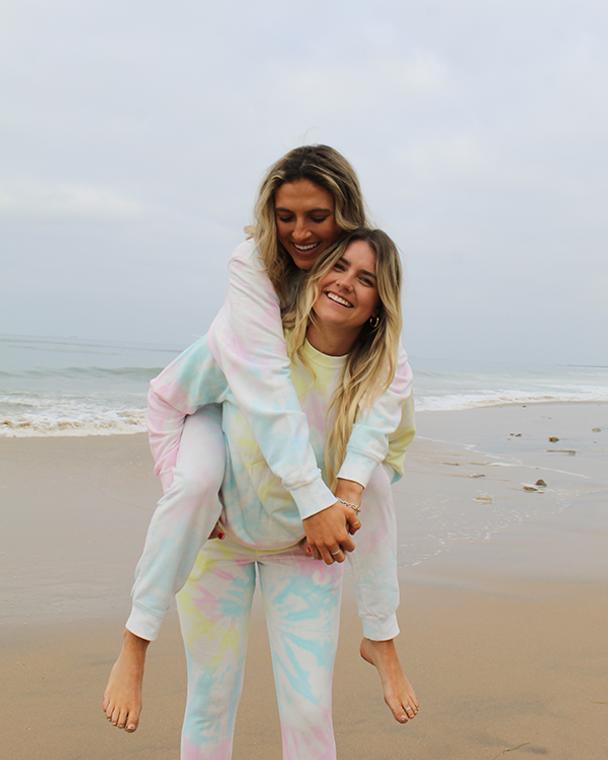 Koloa Tie-Dyed Fleece Pants
