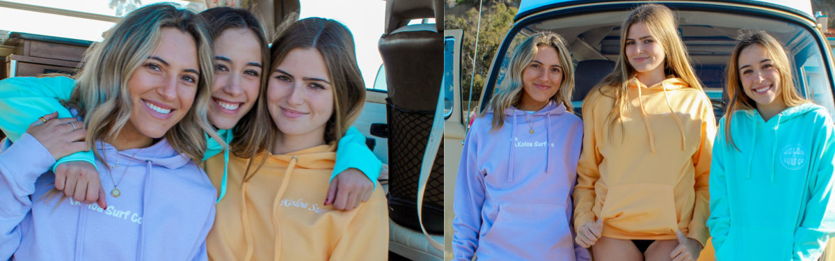Koloa Surf Company Women's Sweatshirts & Hoodies