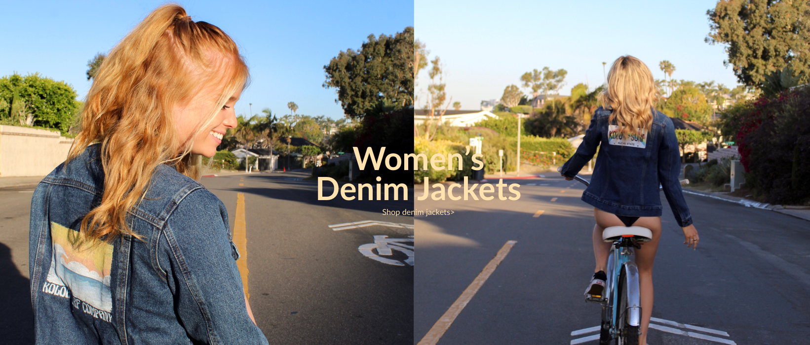 Koloa Surf Company Women's Denim Jacket. Shop the new women's collection now.