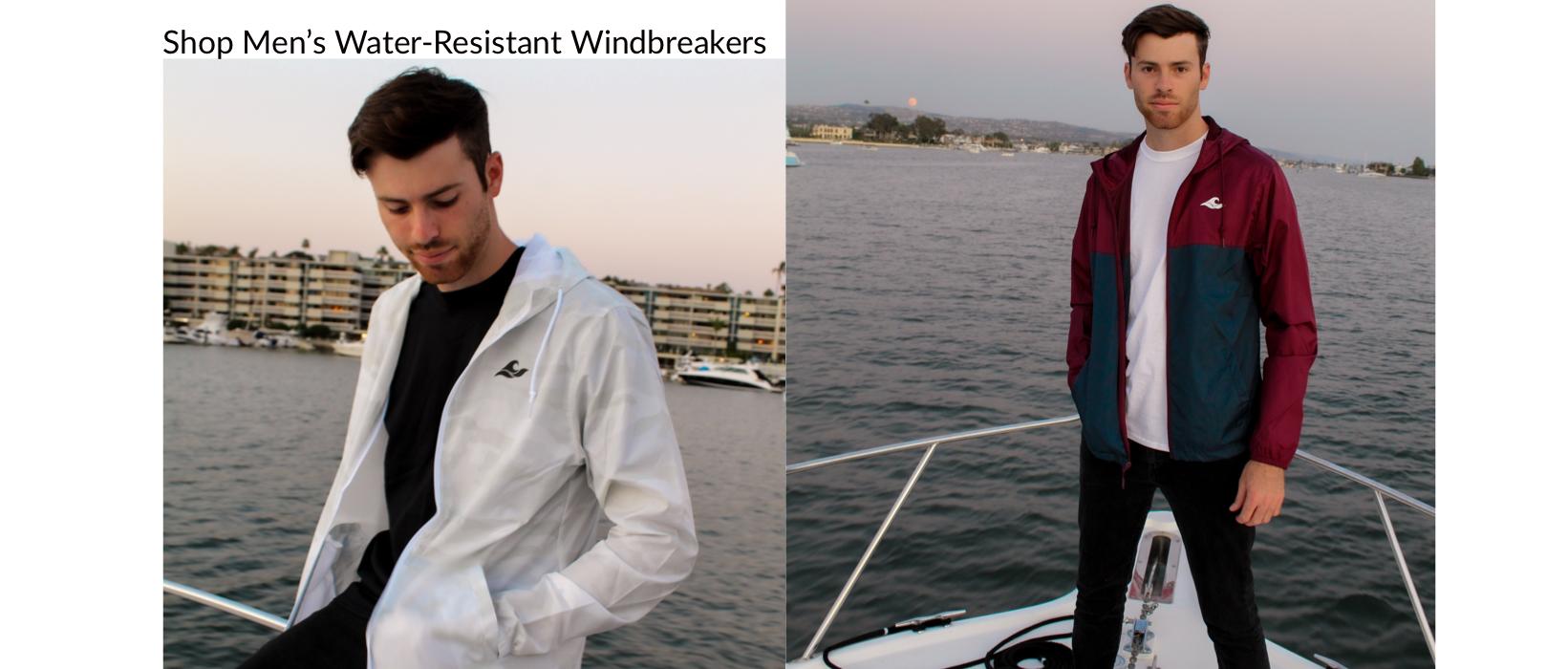 Shop Men's Water-Resistant Windbreakers