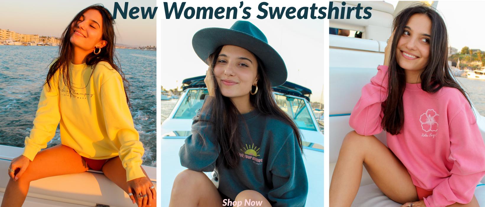 New Women's Sweatshirts