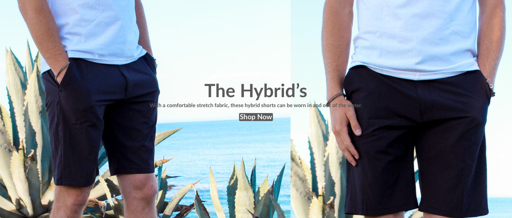 The Hybrid's | With a comfortable stretch fabric, these hybrid shorts can be worn in and out of the water.