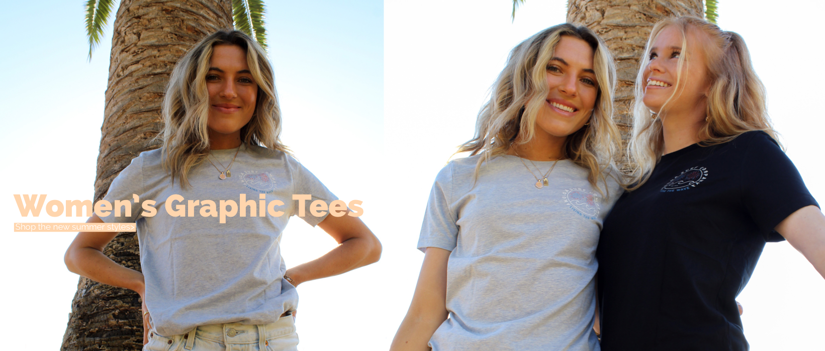Koloa Surf Company Women's Graphic Tees. Shop the new summer styles now for women.