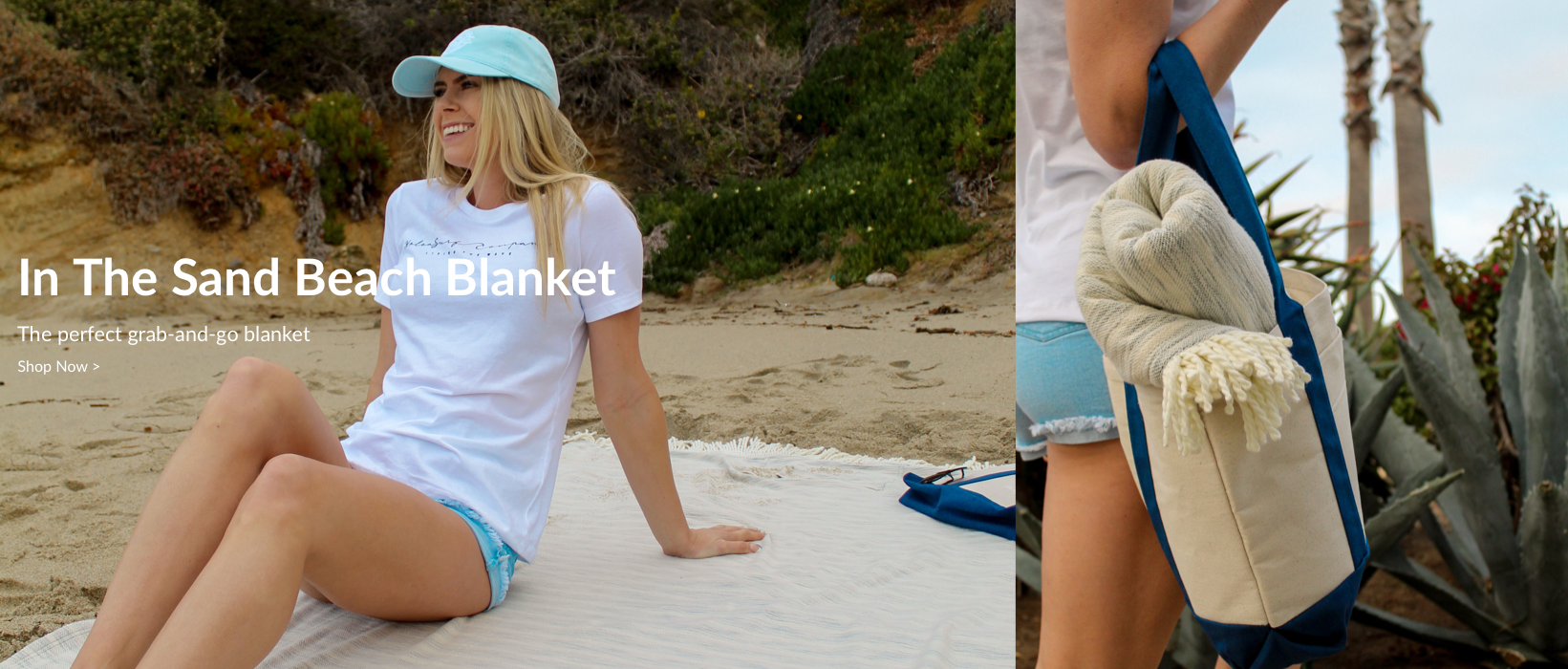 In The Sand Beach Blanket | The Perfect Grab-And-Go Blanket | Shop Now...