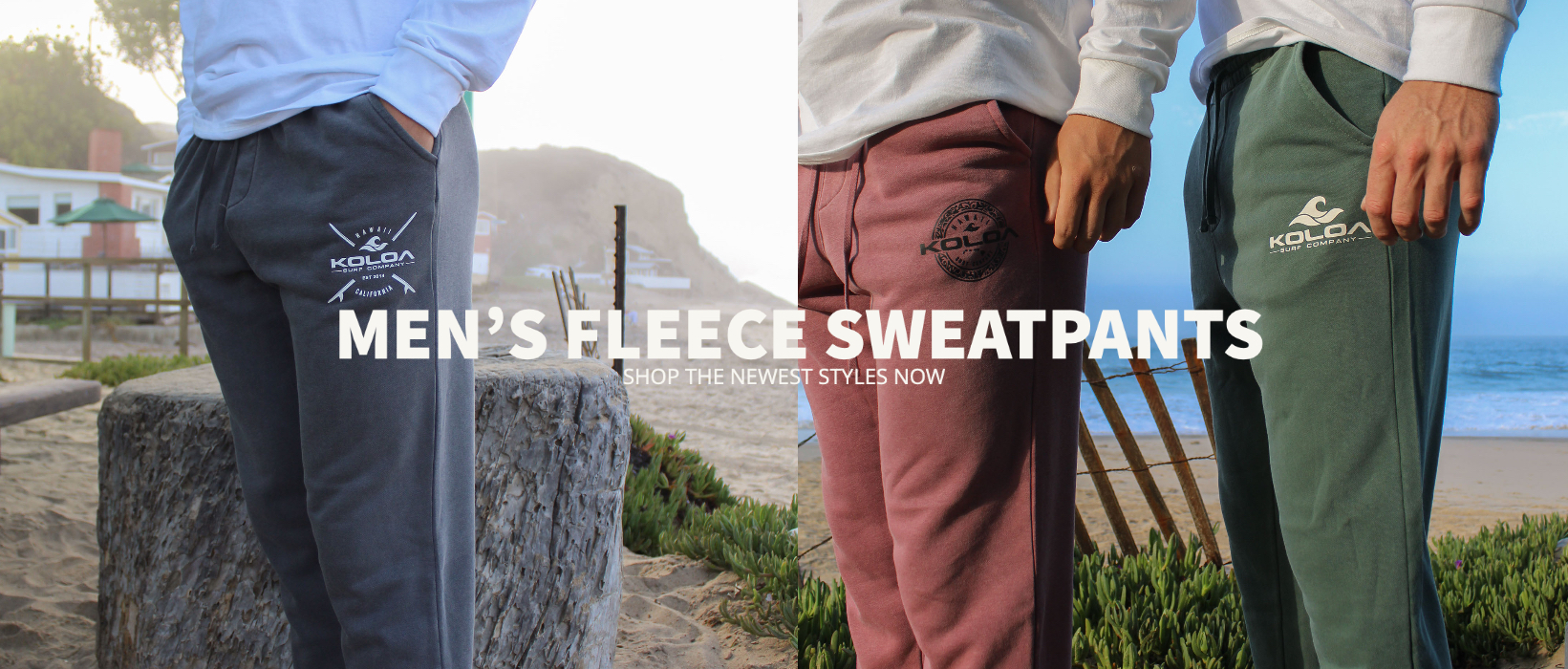Shop men's fleece sweatpants. The newest fleece sweatpants styles.