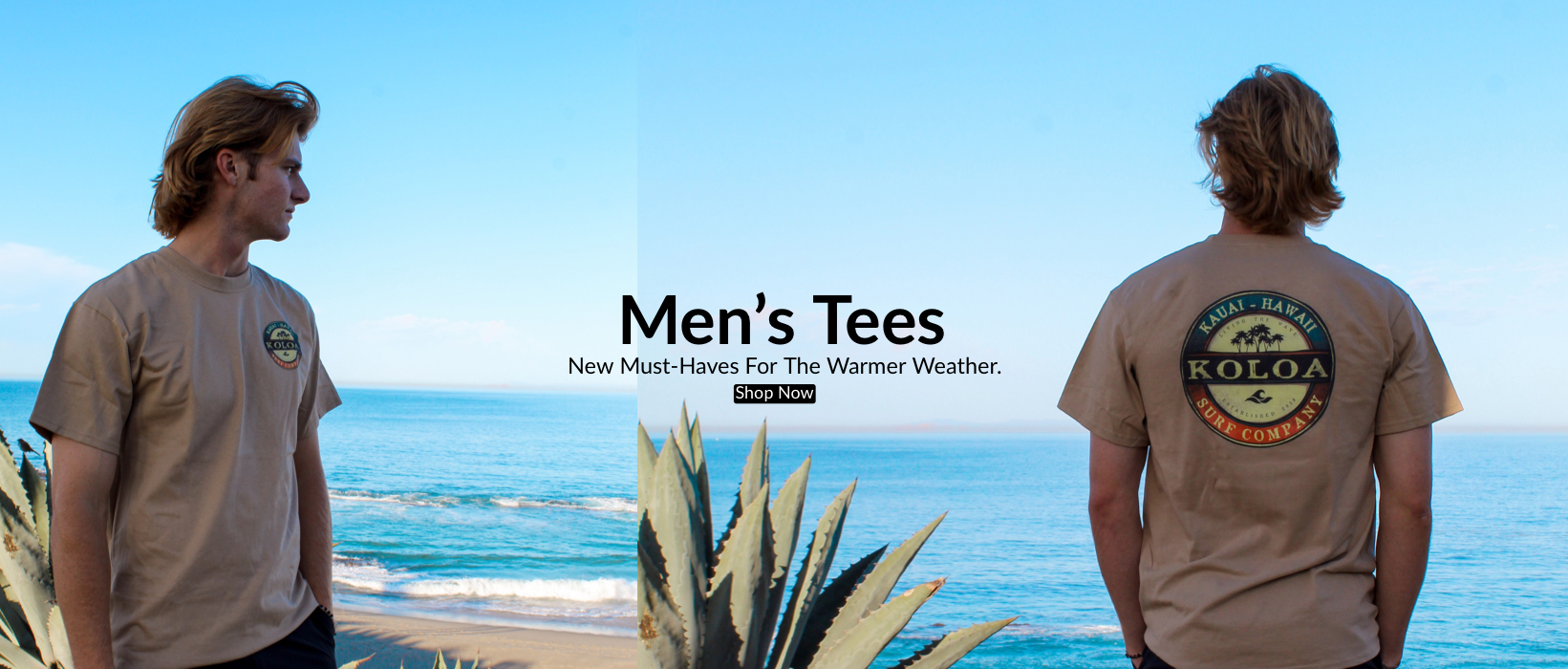 Shop Men's Tees... New Must-Haves For The Warmer Weather
